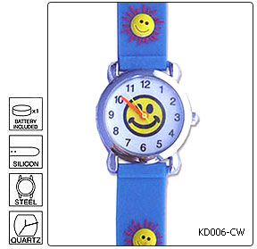 Fully customisable Kids Wrist Watch - Design 6 - Manufactured to