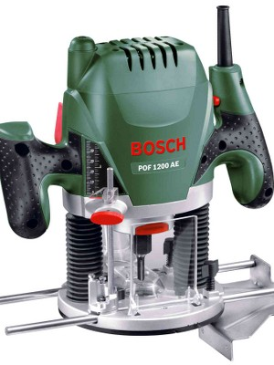 bosch router pof 1200 ae precision plunge router 1200w 1100 bosch026 by bosch corporate. Black Bedroom Furniture Sets. Home Design Ideas