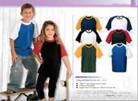 190G Kiddies Raglan T-Shirt