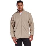 Ultra Micro Fleece Full Zip With Zip Off Sleeves