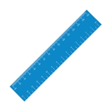 15cm jumbo ruler  - Avail in: Available in many colours
