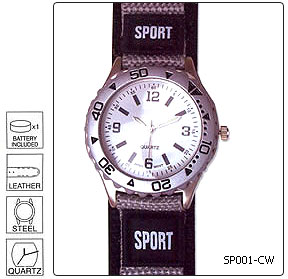 Fully customisable Sports Wrist Watch - Design 1 - Manufactured