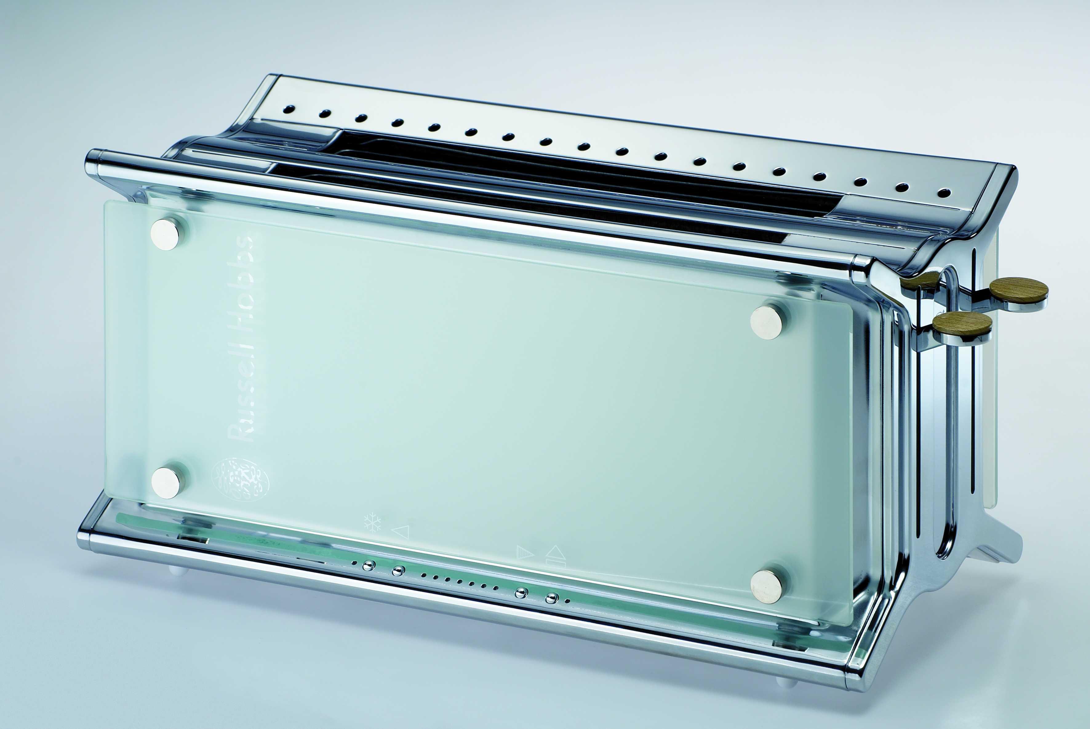 Russel Hobbs 4 Slice Glass Toaster PAM by Russel Hobbs