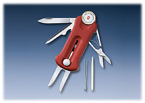 Victorinox Golf Tool in assor colours