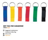 Key Tag For Carabiner
