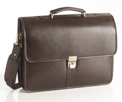Jekyll & Hide Austin Leather Causual Bag 133344 - Black, Brown,