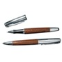 Metal roller ball pen and ball pen gift set in a crocodile finis