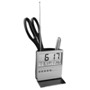 Desk clock pen pot with alarm, day, date and temperature. Great