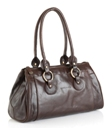 Jekyll & Hide Athena Leather Handbag 213243 - Black, Brown