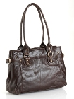 Jekyll & Hide Athena Leather Handbag 213278 - Black, Brown