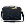 Laptop bag, polyester, lateral zipper