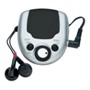 FM auto scan radio with clip and earphones
