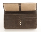 Jekyll & Hide Crunch Leather Wallet- Blue, Grey, Green, Olive Gr