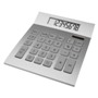Dual power desk calculator with 8 digits