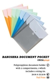 Babushka Document Pocket