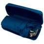 Compact umbrella in a polyester box with zip