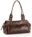 Jekyll & Hide Athena Leather Handbag 582 - Black, Brown