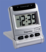 Superglow Travel Lcd Alarm Clock