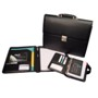 Business set with 3 compartments, organizer, briefcase and confe