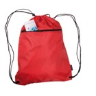 Nylon sports bag with zip pocket, light weight and ideal for the
