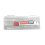 Travel toothbrush set with Colgate toothpaste