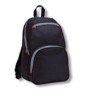 Complete the look with the stylish black backpack