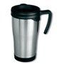 Stainless steel travel mug 0,4 litre capacity