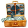 Woven Picnic Basket - Perfect for a summer's afternoon