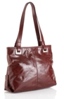 Jekyll & Hide Cow Leather Handbag 8131 - Deep Red, Coffee