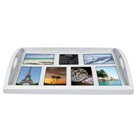 Wooden photo tray - Avail in white or black