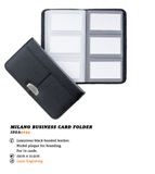 Milano Business Card Folder