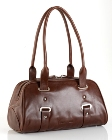 Jekyll & Hide Cow Leather Handbag 9122 - Red Coffee