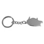 The Lucky Pig keyring- metal