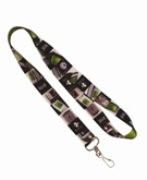 Recycled Pet  and croc Lanyard - Min Order 100 units