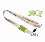 25mm Petersham with USB Lanyard - Min Order 100 units