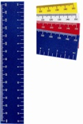 15cm ruler with colour print  - Min Order 100 units
