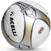 Acelli Vision M90 Soccer Ball - Avail in: Gold/Black/Silver