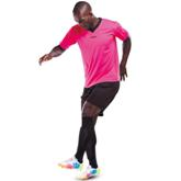 Acelli Electric Soccer Shirt - Avail in: Electric Pink/Black, El