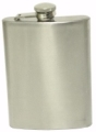 Ultratec S/Stl Hip Flask Wide Satin 8 Oz