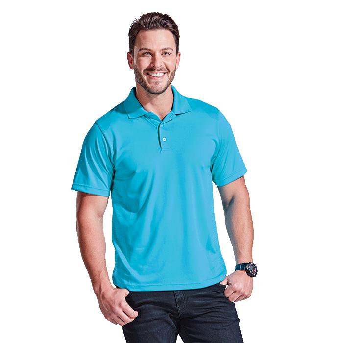 Ahead Mens Quantum Golfer - Avail in: Bright Green, Poppy Red, S