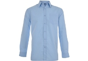 Apollo Long Sleeve Shirt - Avail in: Sky Blue