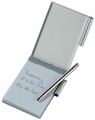 Notepad in Aluminium case