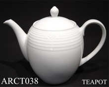 91523 Arctic White Teapot - Min Orders Apply