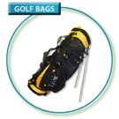 Lynx Stand Bag 7 Div Black / Yellow