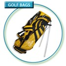 Lynx L41 Stand Bag 8 div Yellow/Black