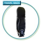 Lynx Travel Bag on Wheels - Black
