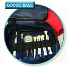Black 600d Nylon Goodie Bag medium size