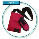 Pink Neoprene Mesh Deluxe Shoulder bag