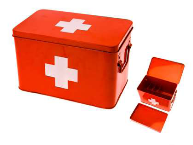 Medicine Storage Box Metal - Large - Min Order: 2