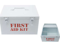 Army Medicine Storage Box Metal - Large - Min Order: 2